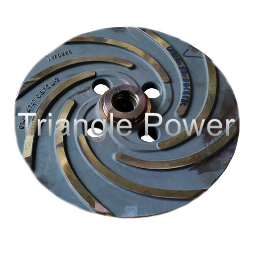 Sulzer Pump Parts Ahlstrom Impeller APP 22-80 APT 22-2 Open